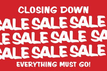 Red Closing Down