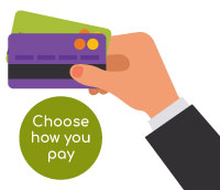 choose how you pay