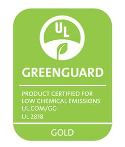 Greenguard certified inks