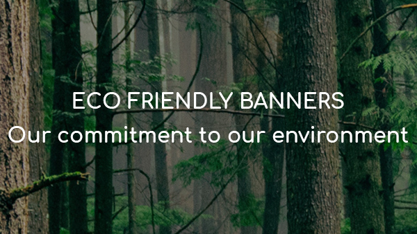 The Banner Hub launch eco-friendly banners – as standard