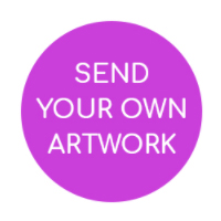 send us your own artwork