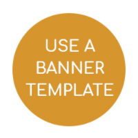 use a banner template
