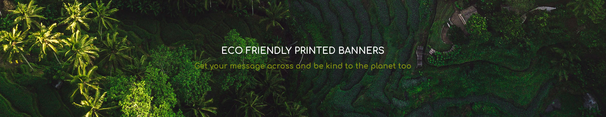 The Banner Hub - Eco Friendly Banners